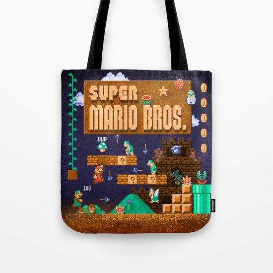 Mario Super Bros Tote Bag