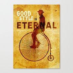 Good style is Eternal Canvas Print