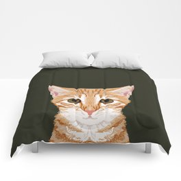 Chase - Cute Cat gifts for pet lovers cat lady gifts and perfect gifts for cat person and cute tabby Comforters