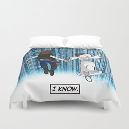 The Captain and the Princess Duvet Cover