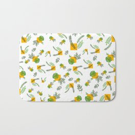 Wall Garden Bath Mat