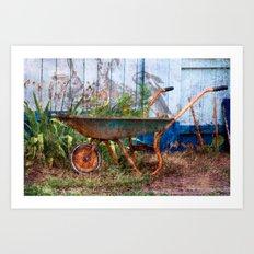 In the Magical Garden Art Print