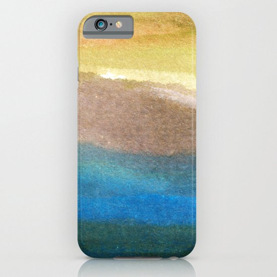 watercolor abstract painting_4 iPhone & iPod Case