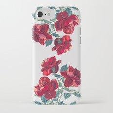 Red Roses iPhone 7 Slim Case