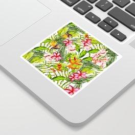 My Aloha Tropical Flower Hibiscus Garden Sticker