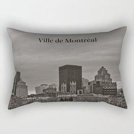 Ville De Montreal Rectangular Pillow