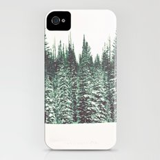 Snow on the Pines Slim Case iPhone (4, 4s)