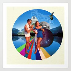 Our Paradise Art Print