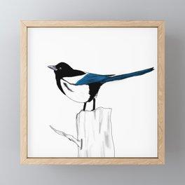 Pica Pica Framed Mini Art Print