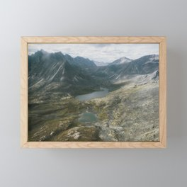 Mackenzie Mountains Framed Mini Art Print