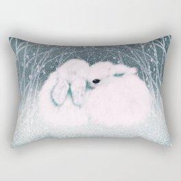 Baby Bun Buns Rectangular Pillow