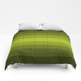 Dark Green Pear - Color Therapy Comforters