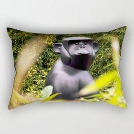 Gorilla in my front yard Rectangular Pillow