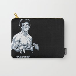 Sylvester Stallone as Rocky Balboa, portrait pop Carry-All Pouch