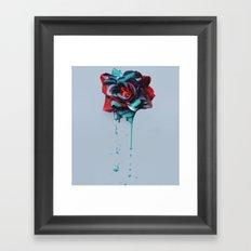 Dripping Love Framed Art Print