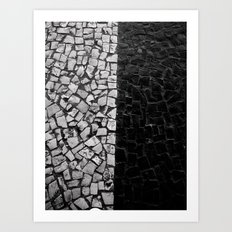Divided Art Print