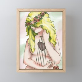Heartstrings Framed Mini Art Print
