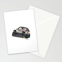 Crazy Car Art 0135 Stationery Cards