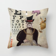 Animal Collection -- 20:20 Throw Pillow