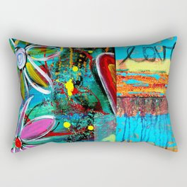 Floral Love  Rectangular Pillow
