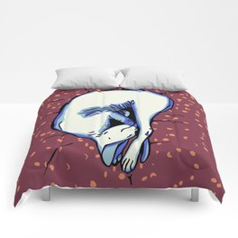 Sphynx Kitty Sleeping Comforters