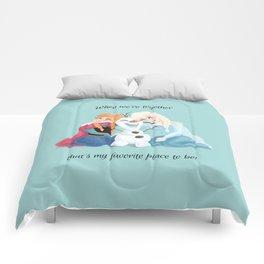 Frozen — When We're Together Comforters