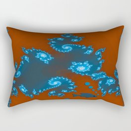 Floating in poisoned waters... Rectangular Pillow