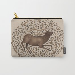 Elk in Nature Carry-All Pouch
