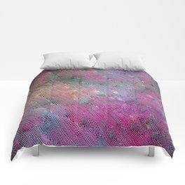 Vortex Footprints Comforters