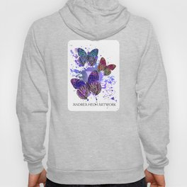 Unchained Butterfly - Violet Purple Hoody