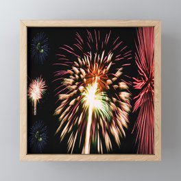 Internal Explosion Framed Mini Art Print