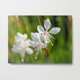 Sparkle White Metal Print