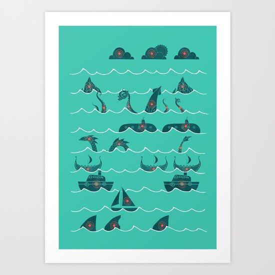 Shooting Gallery Art Print