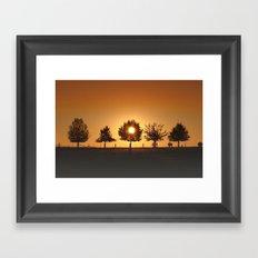 Beautiful Nature Panorama Framed Art Print