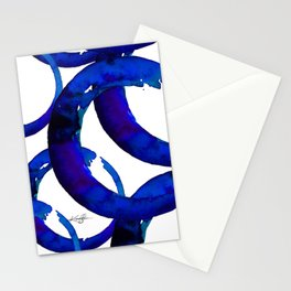 Enso Of Zen No. 21 by Kathy Morton Stanion Stationery Cards