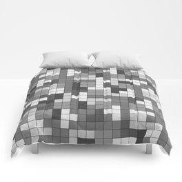 Tetris Camouflage Urban Comforters