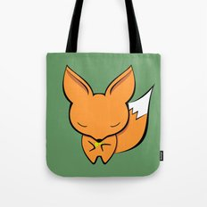 The fox and the gold pan flute Tote Bag