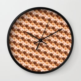 wave of boobies Wall Clock