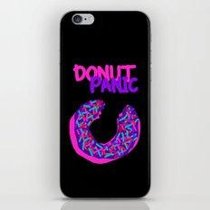 DONUT PANIC [LOST TIME] iPhone & iPod Skin