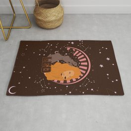 Leo, Astrology, Zodiac Sign Rug