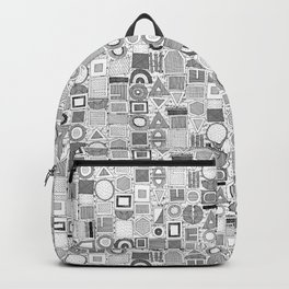 frisson memphis black white Backpack