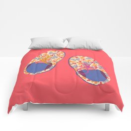 Butterfly Shoes Comforters
