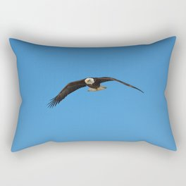 Eagle In Flight - Alaska Rectangular Pillow