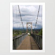 Across the Bridge and Beyond Art Print