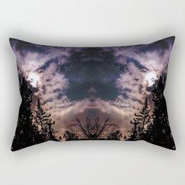 Sky & trees Rectangular Pillow
