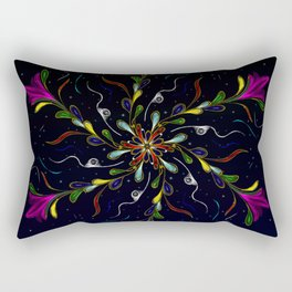 Starry JewelVine Rectangular Pillow