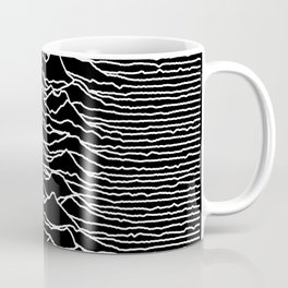 Joy Division - Unknown Pleasures Coffee Mug