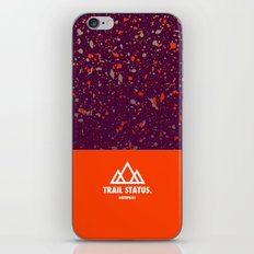 Trail Status / Orange iPhone & iPod Skin