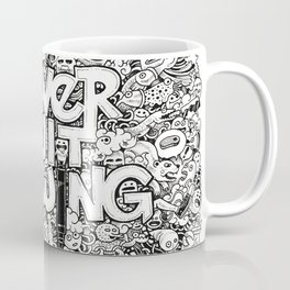 Never Quit Drawing Coffee Mug