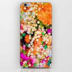 POP-Sparkles iPhone & iPod Skin